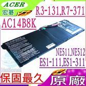 ACER 電池(原廠)-宏碁 AC14B8K,ES1-311,ES1-711,ES1-711G,MS2393,C730,CB3-111,C810,CB5-311,C910,CB3-531