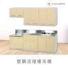 【米朵Miduo】塑鋼流理檯吊櫃 櫥櫃 ...