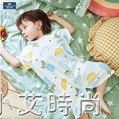 兒童連身衣夏季嬰兒家居薄款哈衣空調服男童女童睡衣短袖寶寶夏裝 小艾新品