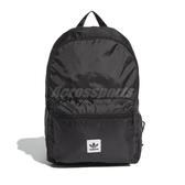adidas 後背包 Packable BP 黑 白 男女款 可收納 【ACS】 ED8013