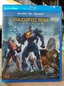 挖寶二手片-0461--正版藍光BD【環太平洋2起義時刻 3D+2D雙碟版】熱門電影(直購價)