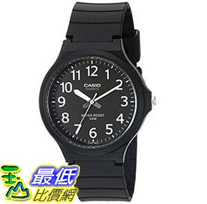 [出清價只有1個] 手錶 Casio Mens Easy To Read Quartz Black Casual Watch (Model: MW240-1BV) _T01