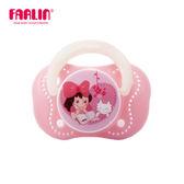 【FARLIN】嬰兒櫻桃型安撫奶嘴(矽膠/夜光)(6M+)(藍)