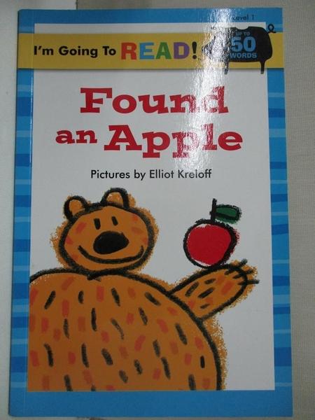 【書寶二手書T6/原文小說_D63】Found an Apple_Kreloff, Elliot (ILT)
