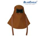 【醫碩科技】藍鷹牌 電銲皮頭罩 焊接作業防護專用 豬面皮材質 L-901