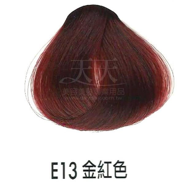 【專業推薦】耐婷 亮彩染髮劑 E13-金紅色 60g [68668]