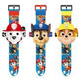 兒童手錶抖音同款兒童玩具手錶男孩女孩汪汪隊立大功奧特曼3D投影卡通電  童趣屋