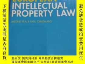 二手書博民逛書店European罕見intellectual property