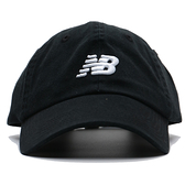 NEW BALANCE NB 黑 白刺繡LOGO 老帽 可調 男女皆可戴 (布魯克林) LAH91014BK