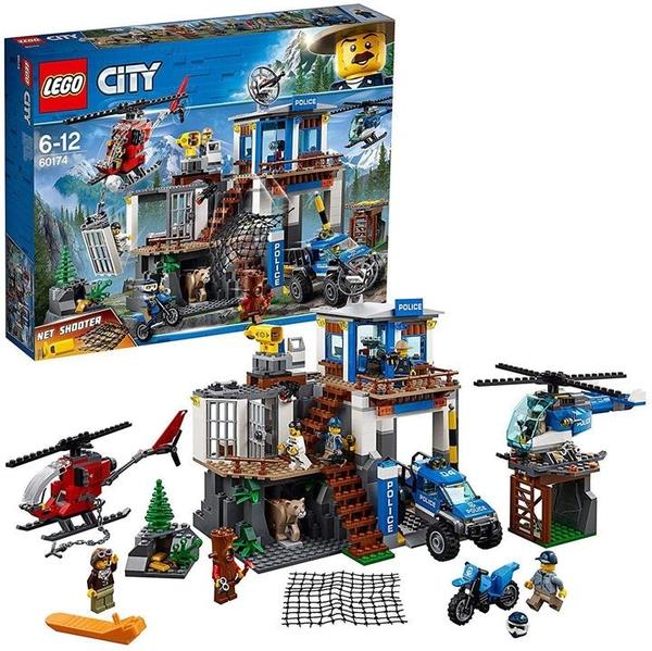 LEGO 樂高 城市系列 山員警指令基地 60174 積木玩具