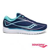 SAUCONY KINVARA 10 專業訓練女鞋-夜藍x冰藍