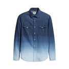 Levis 男款 牛仔襯衫 / 休閒版型 / 漸層水洗※滿4件送限量托特包x1