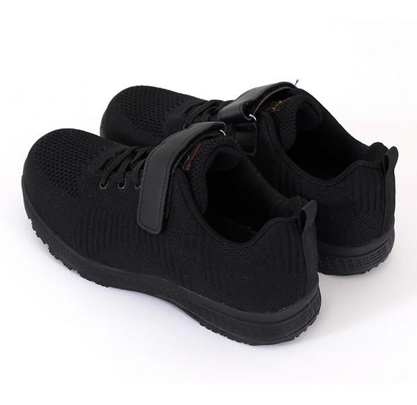 男女款 S887魔鬼氈防砸塑鋼飛織網布子彈布防穿刺塑鋼鞋鋼頭鞋工作鞋安全鞋女生鋼頭鞋 59鞋廊