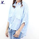 【春夏新品】American Bluedeer - 短袖格子襯衫 二色