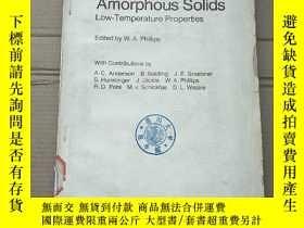 二手書博民逛書店Amorphous罕見solids(p2073)Y173412