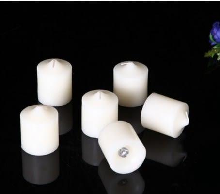 [協貿國際]  無菸香薰蠟燭生日婚慶慶典專用大口徑燭台 3入