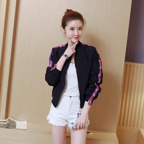 FINDSENSE G5 韓國時尚 春季 夏季 夾克 百搭 薄款 防曬衣 開衫