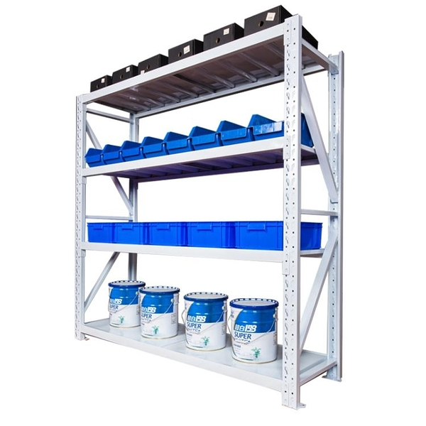 貨架倉儲倉庫置物架家用多層地下室多功能自由組合貨物展示鐵架子 「免運」