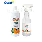 澳洲Oates奧茲 超濃縮天然浴廁清潔劑 500ml..附贈稀釋噴瓶!