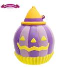 紫色款【日本進口】萬聖節系列 南瓜 捏捏吊飾 吊飾 捏捏樂 軟軟 squishy SAMMY - 622235