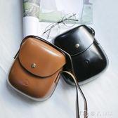 貝殼包韓國新款潮流純色單肩包休閒小包學院風百搭斜背包包女     麥吉良品