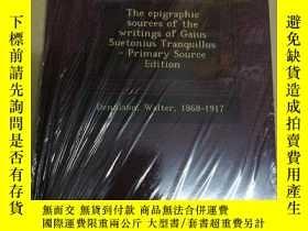 二手書博民逛書店The罕見Epigraphic Sources of the W