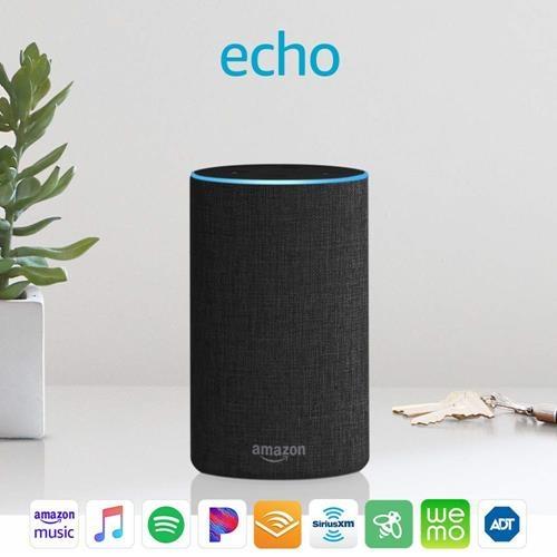 Echo(第二代) Alexa的智能揚聲器 木炭灰色