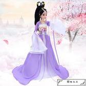 克時帝芭比中國古裝換裝洋娃娃套裝大禮盒民族古代仙女公主衣服飾