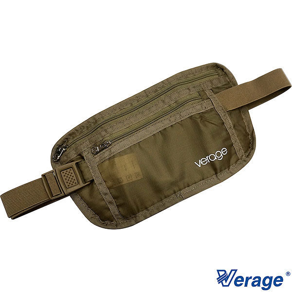 Verage 旅行腰包『卡其』379-5024  旅行|商旅|貼身腰包