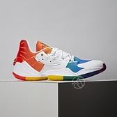 Adidas Harden Vol. 4 GCA - Pride 男鞋 白彩 運動 哈登 籃球鞋 FX4797