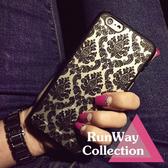 【R】歐洲磨砂 宮廷風 三星S6 HTC M9手機殼 新款  手機 殼女 保護套 超薄
