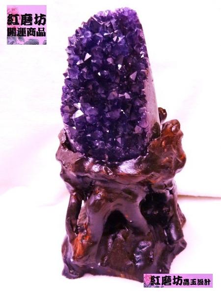 【Ruby工作坊】NO.34A6天然六星頂級烏拉圭紫水晶聚寶盆 (加持祈福)