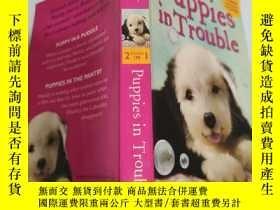 二手書博民逛書店puppies罕見in trouble 有麻煩的小狗Y200392