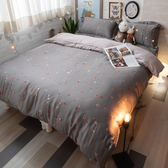 天絲床組 沈香落燼 QPM4雙人加大鋪棉床包鋪棉兩用被四件組(40支) 100%天絲 棉床本舖