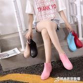 雨鞋女春夏短筒防滑水鞋低筒膠鞋平底水靴防水工作鞋廚房女士雨靴 時尚芭莎鞋櫃