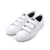 KEDS TIEBREAK 時尚皮革魔鬼氈休閒鞋 白 191W122733 女鞋
