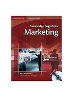 二手書博民逛書店《Cambridge English for Marketing Student s Book with Audio CD》 R2Y ISBN:0521124603