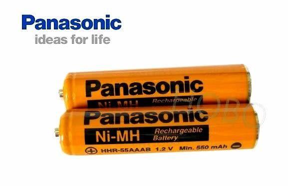 【2顆裝】原廠 國際牌Panasonic HHR-4MRT / HHR-55AAAB 無線電話用4號充電電池