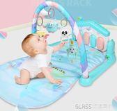 嬰兒健身架器腳踏鋼琴音樂新生兒0-3-6-12個月寶寶玩具0-1歲igo    琉璃美衣