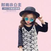 兒童太陽鏡寶寶墨鏡眼鏡防紫外線1-3男女童潮眼鏡框可愛1-2歲個性【好康八五折搶購】