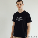 【GIORDANO】男裝夏日陽光印花T恤 - 11 標誌黑