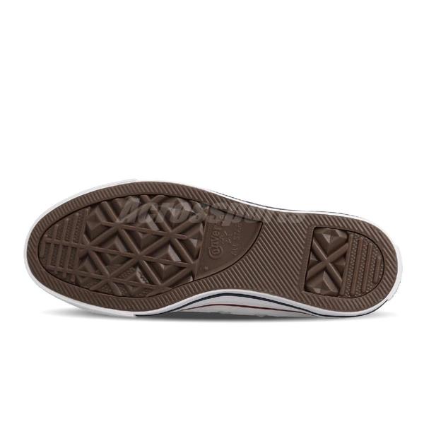 Converse Chuck Taylor All Star 白 藍紅線 低筒 帆布鞋 基本款 情侶鞋推薦款式 男鞋 女鞋【PUMP306】 M7652C