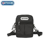 【OUTDOOR】輕遊系-側背包-黑色 OD111116BK