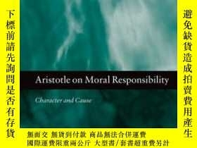 二手書博民逛書店Aristotle罕見On Moral Responsibili