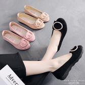 樂福鞋/豆豆鞋 平跟工作時尚透氣軟底純色