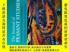 二手書博民逛書店The罕見Journal of peasant studies 11 2013 農民研究農村農業學術Y1461