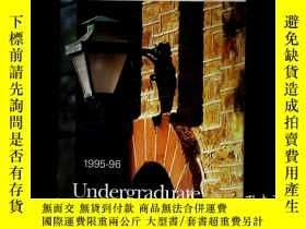 二手書博民逛書店1995-96Undergraduate罕見Announceme