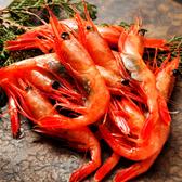 ㊣盅龐水產 ◇帶殼甜蝦4L◇重量1kg±5%/盒(約41-45隻)◇零$870元/盒 大隻甜蝦 會處理可生食