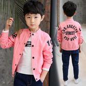 男童外套春秋2018新款韓版中大童裝男孩薄款夾克兒童秋裝棒球服潮 熊貓本