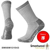 【速捷戶外】Smartwool 美麗諾羊毛襪 SW0SW131043 重量級減震途步中長襪(灰),登山/健行/旅遊